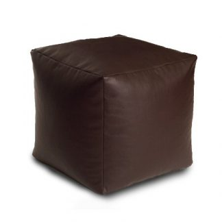 Bean Bag Cube Faux Leather