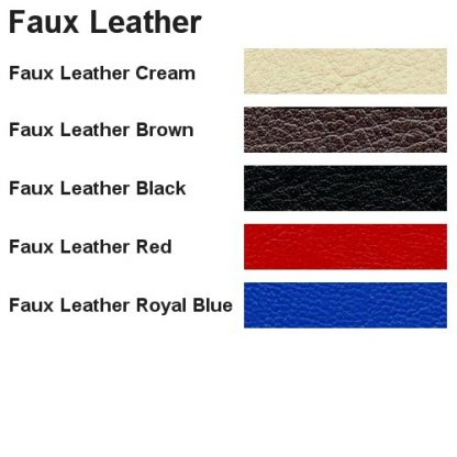 Faux Leather Colours