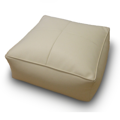 Bean Bag Foot Stool Leather