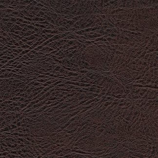 Fabric Faux Leather Brown