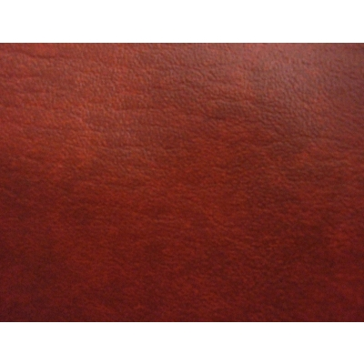 Fabric faux leather mottled red