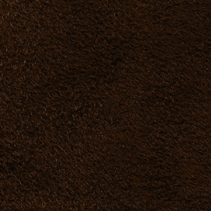 Fabric faux suede chocolate brown