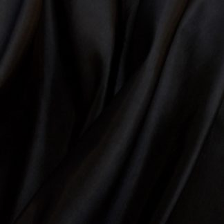 Fabric Taffeta Two Tone Black