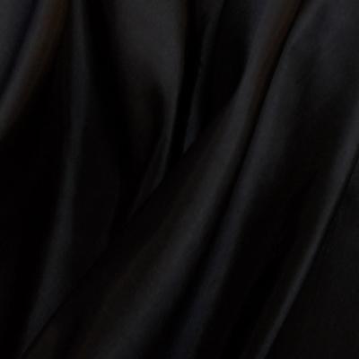 Fabric Taffeta Two Tone Black