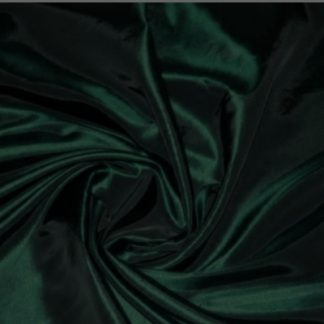 Fabric taffeta two tone dark green