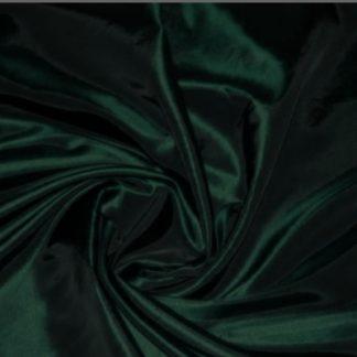 Fabric taffeta two tone dark green