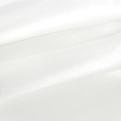 Fabric taffeta two tone white